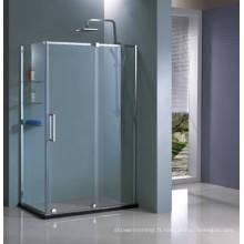 Cabine de douche en verre de forme carrée HD1382L-Z