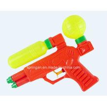Пластмассовая водяная пушка летней игрушки с резервуаром для хранения воды