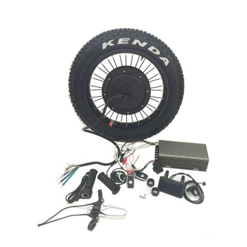 2021 5000w vehicle fat tire bike dirt mountain e-bicycle motor electric bike conversion kit for sale