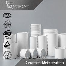 Mo Mn Metalized Ceramic para el uso del interruptor de la mina