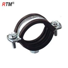 Inch stainless steel single pipe clamps