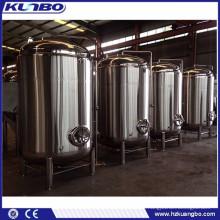 Stainless steel beer storage tank maturation tank