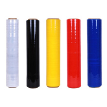 Colored Roll LLDPE Hand Pallet Packaging Stretch Quality Films Years Brown Wrap Film