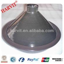 "10.5"" stoneware Tajine pot"