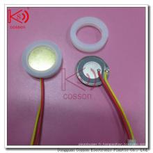 Ultrasonique Bonne qualité 20mm RoHS ISO9001 1,7MHz Pièce d'atomisation