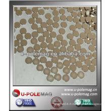 Aimant de disque Neodymium D10mm avec revêtement NiCuNi à vendre