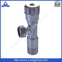 Vanne d'angle en laiton haute qualité pour toilette (YD-5013)