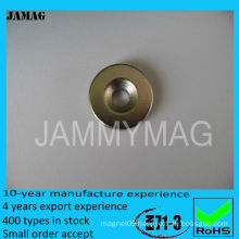 D18d5H3 screw ring injection ndfeb magnet