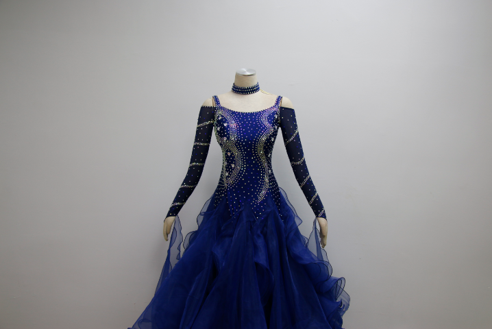 Ballroom Dance Costumes With Sleeves