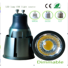 Ce y Rhos Dimmable MR16 9W COB LED Bombilla