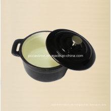 Proveedor de la cacerola de la cacerola de la arcilla del molde del esmalte de China