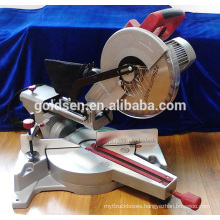 New 1800w Low Noise Long Life Power Aluminium Cutting Cut Off Saw Induction Silent Motor Electric 255mm Slide Miter Saw GW8020