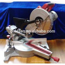 Novo 1800w baixo ruído de energia de longa vida de corte de alumínio cortado Saw indução motor silencioso elétrico 255 milímetros Miter serra GW8020