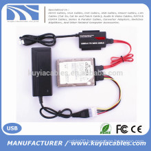 """High Speed USB 3.0 to IDE/SATA Converter for 2.5""""/3.5""""HDD with OTB"""