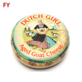 Customized cheese label highly praised cheese label