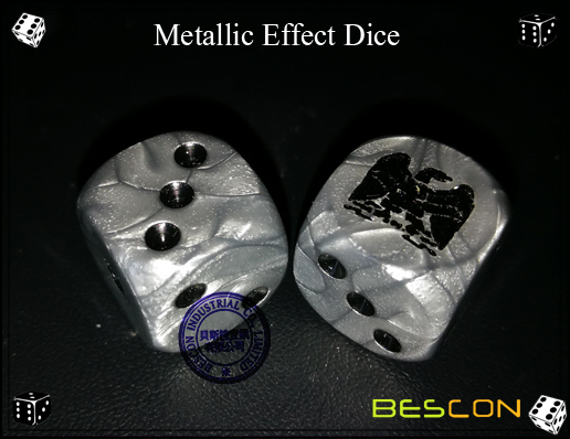 Metallic Effect Dice