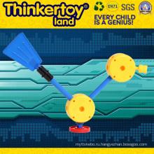 Мини-пластиковая учебная игрушка с интеллектуальным поездом