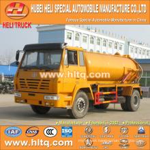 SHACMAN AOLONG 4x2 10000L vacuum pump truck with vacuum pump WP10.270E32 270hp