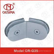 Chuveiro de 135 graus dobrados Shower Clips de fixação do vidro do quarto (CR-G35)