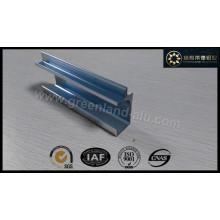 Алюминиевый профиль для ручки кухонного шкафа с анодированным серебристым матовым покрытием