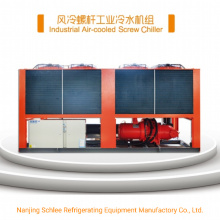 650tons Food Cooling System Machine Air Cooled Screw Water Chillers