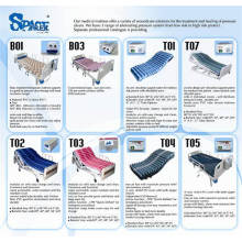 pressure care medical air mattress with pump system manufacture