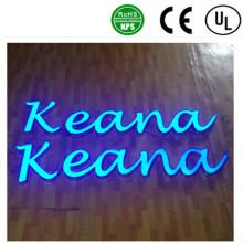 Canal de produtos quentes letra caixa de luz de sinal