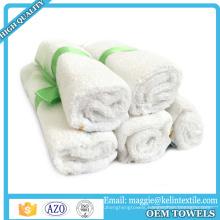 Sample free 100% Natural organic baby bamboo washcloths towel baby