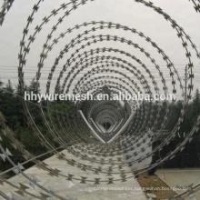 galvanized concertina razor wire BTO22 barb razor wire sharp concertina wire