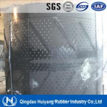 Goma de la máquina de granallado de cadena correas transportadoras para granalladora