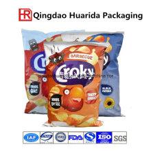 Картофельные Чипсы Пластичный Мешок Упаковки Еды