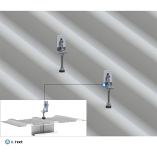 Perno de suspensión solar de acero inoxidable