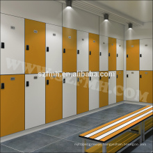 wood color 2 door gym hpl locker for sale