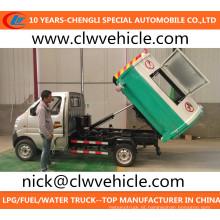 Mini Caminhão de Lixo 4X2 Caminhão de Lixo Changan Pequeno Caminhão de Lixo