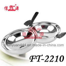 Stainless Steel Deep Single Pan (FT-2210)