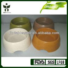 Экологичная бамбуковая миска для собак
