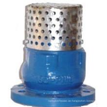 Edelstahl-Sieb mit Geräuschdämpfer-Fußventil