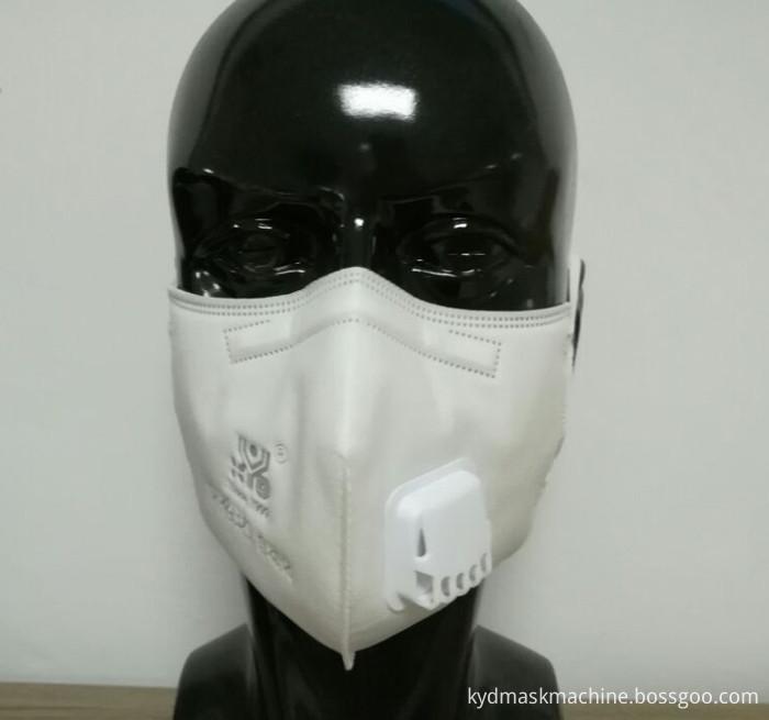 Folding Mask With Breathe Valve