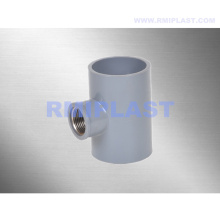 PVC Copper Threaded Tee BSPT
