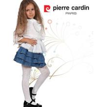 Pierre Cardin Marshmallow OEM Venta al por mayor Chica Microfiber 40 denier medias patrón Pantyhose Multi Color