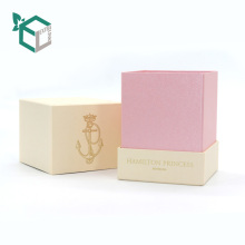 Luxury industrial price Logo printed wholesale candle boxes box packaging paper printed packaging box