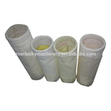 High temperature dust collector filter bags