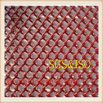 Galvanized Chain Link Mesh for Garden Fence