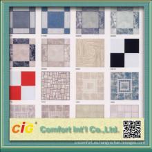 Diseño de azulejos de suelo de PVC de moda
