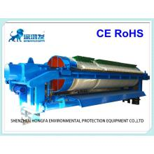 Prensa de filtro eficiente de alta presión redonda de caolín