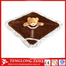 Bär Spielzeug Baby beschwichtigen die Handtuch Baby pinafore