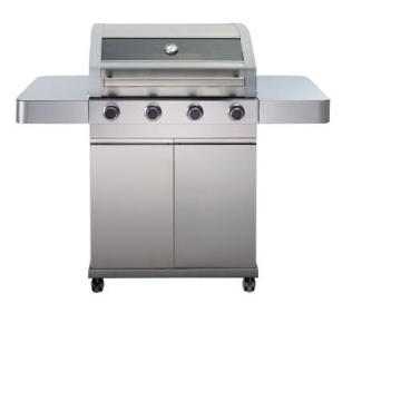 4 brûleurs en acier inoxydable plein en acier inoxydable barbecue