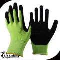 SRSAFETY 13g песочные нитриловые серые и желтые нитриловые перчатки, цветные перчатки