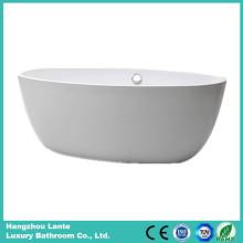Wholesale Acrylic Fiber Glass Simple Bathtub (LT-25D)