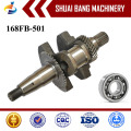168FB Low Price Iron Forged Crankshaft Supplier